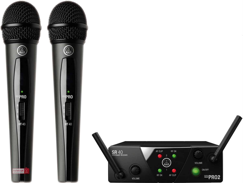 Mikrofon akg wms40 mini2 vocall set dual