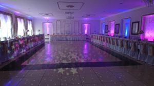 doświetlenie sali