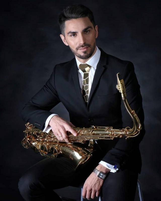 Saksofonista Felipe Alvarado