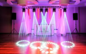 oświetlenie i doświetlenie sali